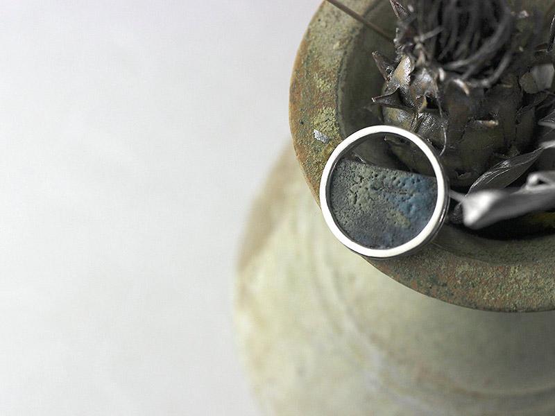 hitotoi 金胎陶芸ジュエリー 指輪
