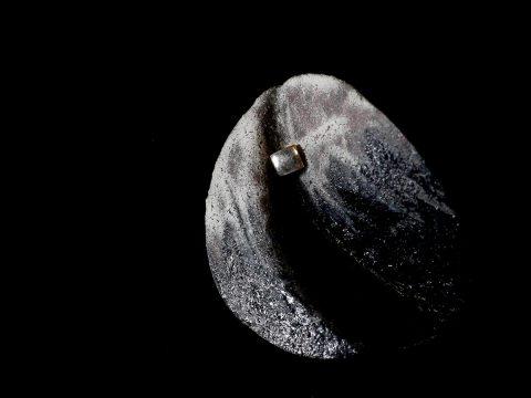 hitotoi 錆釉 ピンブローチ